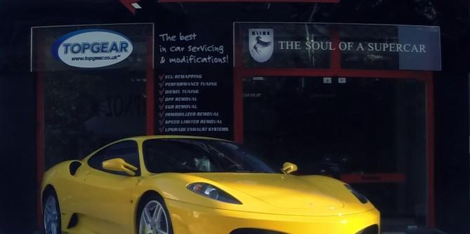 Ferrari F430 Tuned by Tuning On Road
