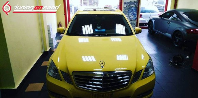 Mercedes-Benz E200 CDI Diesel -26% Fuel Saving