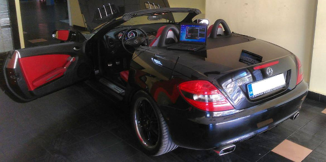 Mercedes-Benz SLK 200 1.8 Kompressor 224hp