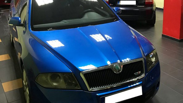 Skoda Octavia RS (ΙΙ) 285hp