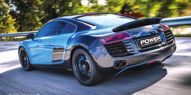 Audi R8 @PowerMag