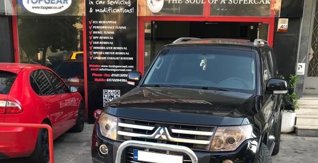 Mitsubishi Pajero MK4 3.2 Diesel -18% Fuel Saving