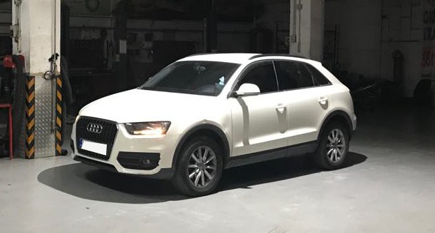 Audi Q3 2.0 TDI -15% Fuel Saving