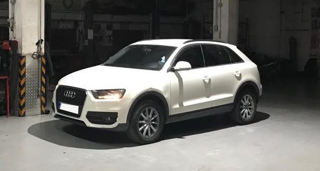 Audi Q3 2.0 TDI -15% Fuel Saving